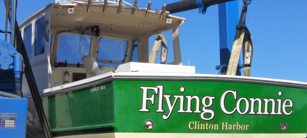 Back of the Flying Connie Charter Boat